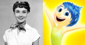 Alegría de 'Del Revés (Inside Out)' está inspirada en Audrey Hepburn