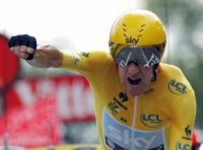 El ciclista Bradley Wiggins podría tener su propia película