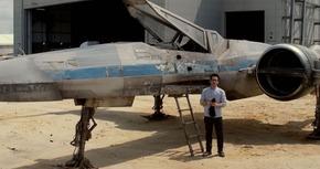J.J Abrams desvela el diseño de Ala-X en 'Star Wars VII'