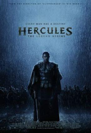 Nuevo cartel oficial y primer tráiler de 'Hercules: The legend begins'