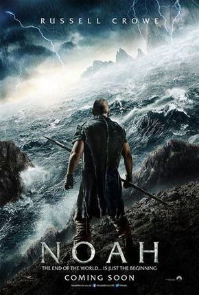 Primer cartel y clips de 'Noé' con Russell Crowe