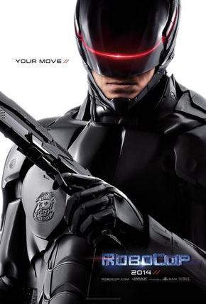 Primer póster promocional de 'RoboCop'