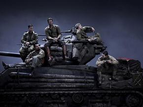 Primera imagen de 'Fury', protagonizada por Brad Pitt