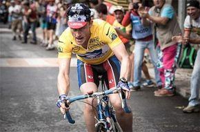 Primera instantánea del biopic de Lance Armstrong