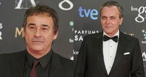 Eduard Fernández y José Coronado, los protagonistas de 'El hombre de las mil caras'