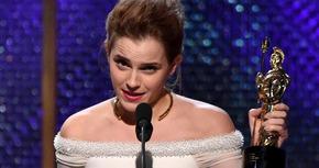 Emma Watson dedica su Bafta a su hámster fallecido