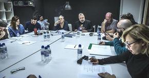 Empieza el rodaje de la nueva película de Álex de la Iglesia, 'El Bar'