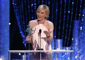 Matthew McConaughey y Cate Blanchett, los mejores actores en los Premios SAG 2014