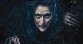 Nuevo póster de 'Into the Woods' con una irreconocible Meryl Streep