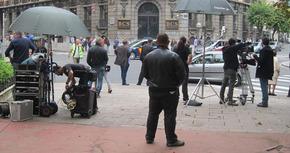 Se inicia el rodaje de 'Plan de fuga' en Bilbao