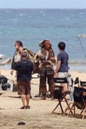 Primeras imágenes de Jonny Depp en 'Piratas del Caribe 4'