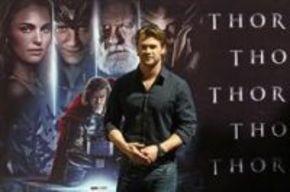 Chris Hemsworth visita España para presentar la nueva superproducción de Marvel, 'Thor'