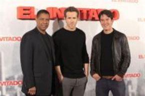 Denzel Washington y Ryan Reynolds, en España para promocionar 'El invitado'