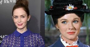 Emily Blunt, la favorita de Disney para protagonizar 'Mary Poppins 2'