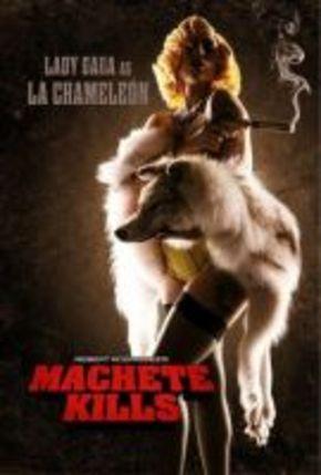 Lady Gaga, la Camaleón, en 'Machete kills'