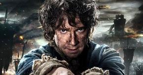 Nuevo cartel de 'El Hobbit: La Batalla de los Cinco Ejércitos', con Bilbo Bolsón