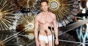 Oscars 2015: Neil Patrick Harris sólo tuvo gracia en calzoncillos