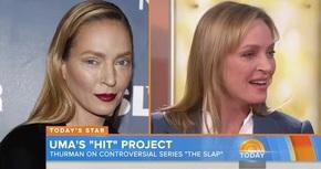 Uma Thurman no se ha operado: la culpa fue del maquillaje