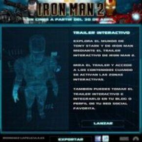 Nuevo tráiler interactivo de 'Iron Man 2'