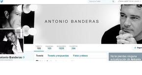 Antonio Banderas cumple un mes en Twitter