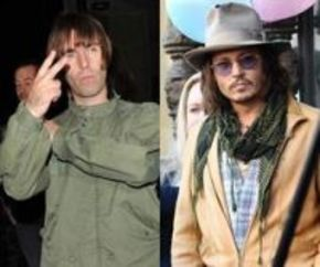 Liam Gallagher quiere a Johnny Depp para su película de Los Beatles