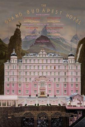 Cartel oficial de 'The Grand Budapest Hotel'