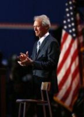 Clint Eastwood, activista en la campaña de Mitt Rommney