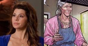 Marisa Tomei, la nueva Tía May en la próxima película de Spiderman