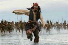 Encuentran una página del guión de 'Piratas del Caribe 4' en un bar