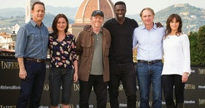 Tom Hanks presenta en Florencia 'Inferno'