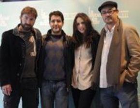 Manuel Martín presenta su última película, 'La mitad de Óscar'