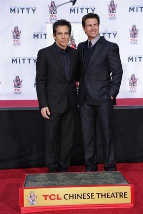 Ben Stiller ya tiene sus huellas en el Olimpo de Hollywood