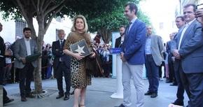 Catherine Deneuve ya tiene una estrella en el Paseo de la Fama de Almería