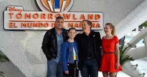 George Clooney presenta 'Tomorrowland' en Valencia