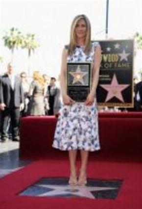 Jennifer Aniston ya tiene su estrella en el Paseo de la Fama