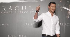 Luke Evans ha estado en Madrid para presentar 'Drácula: La leyenda jamás contada'
