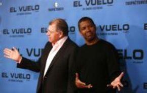 Denzel Washington, en España para presentar 'El vuelo (Flight)'
