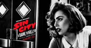 Nuevo póster de 'Sin City: Una dama por la que matar' con Lady Gaga