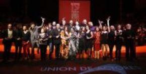 Tosar y Dueñas, premiados por la Unión de Actores