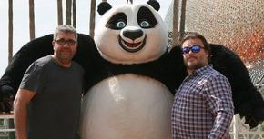 Jack Black y Florentino Fernández hablan de 'Kung Fu Panda 3'... ¿y 4?