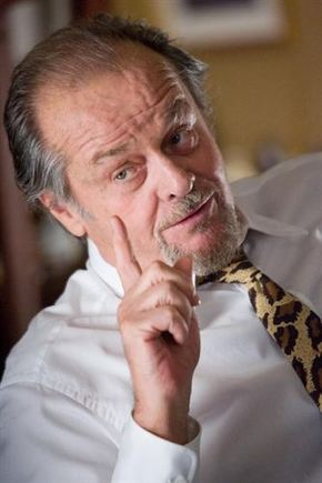 Jack Nicholson no se retira del cine