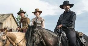 'Los siete magníficos' cabalgan hasta el número uno de la taquilla española