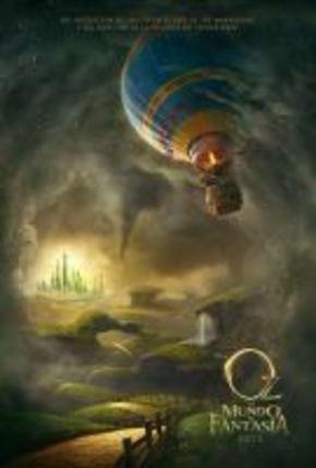 Primer cartel de 'Oz, un mundo de fantasía'