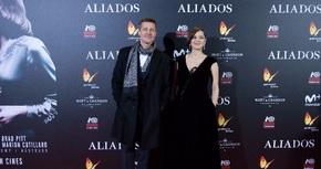 Brad Pitt y Marion Cotillard presentan en España su nueva película, 'Aliados'