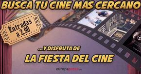 Encuentra tu cine más cercano para la Fiesta del cine