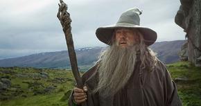 Impresionante póster de Gandalf en 'El Hobbit: La batalla de los cinco ejércitos'