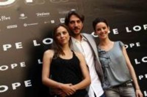 El reparto del filme 'Lope', encantado con el resultado