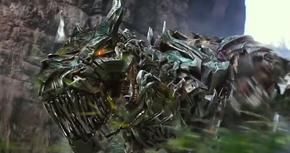 Los Dinobots protagonizan el nuevo clip de 'Transformers 4'