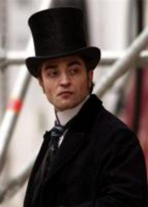 Robert Pattinson, un galán de época en el rodaje de 'Bel Ami'