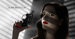 Censurado el cartel de Eva Green de 'Sin City 2' en los Estados Unidos